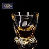 Усукана чаша за уиски серия Куадро Bohemia Crystalite № 71325