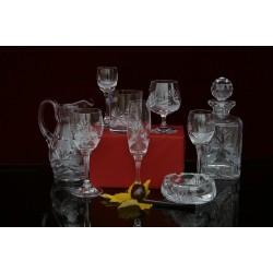 Кристални чаши и изделия серия Адела 17002