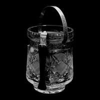 Кристален съд за лед серия Виолета № 34239 Щипката за лед се продава отделно!!!