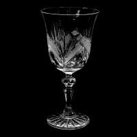 Кристална чаша гоблет № 34090 Продуктът временно е изчерпан!!!