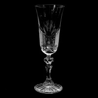 Кристална чаша за шампанско № 34121  Продуктът временно е изчерпан!!!