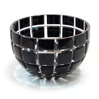Кристална фруктиера от черен двупластов кристал № 47078