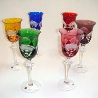 Кристални чаши за вино /цена за 1 бр.чаша/  № 11889