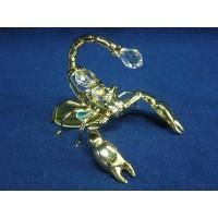 Позлатена фигура скорпион № 20242