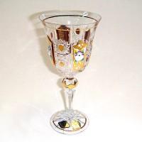 Позлатена кристална чаша за бяло вино № 57112170