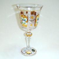 Позлатена кристална чаша за червено вино № 57112220