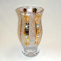 Позлатена кристална ваза № 57112255