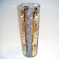 Позлатена кристална ваза № 57112305