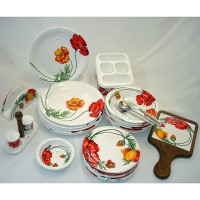 Сервиз за закуска 25 части керамика № 19531